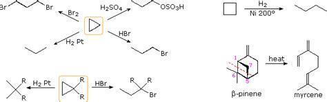 alkanes cycloalkanes