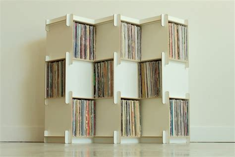 vinyl storage shelves could these modular shelves be the future of record