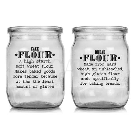 kitchen canister labels pantry set kitchen canister labels flour sugar nuts vinyl self
