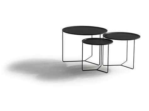Black Metal Side Tables Ambience Dor 233
