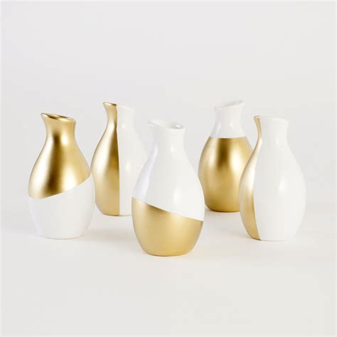 Home Vases by Gold Dipped Vases At Home Adorable Home