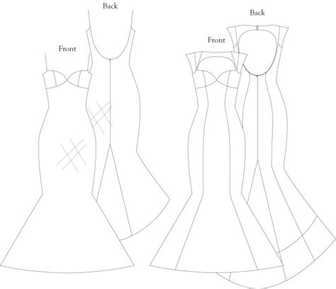 sewing pattern queen anne neckline scarlet wedding gown with queen anne neckline open back