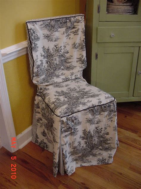 chair cover dining slip toile chair pads cushions