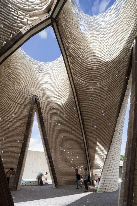 cool brick buildings  design ideas
