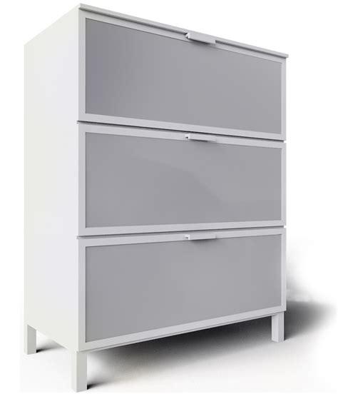 Aneboda Ikea cad i bim objekti aneboda white chest of 3 drawers ikea