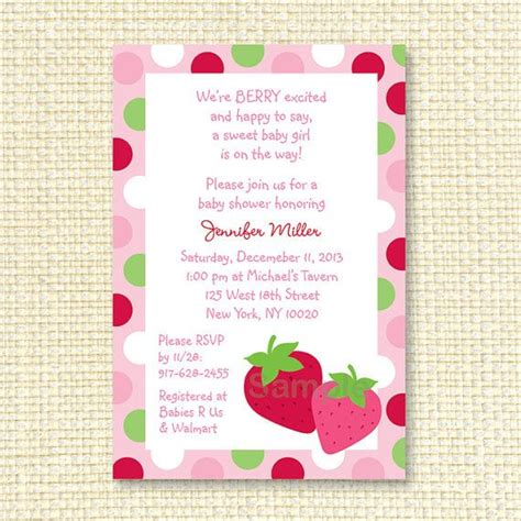 Baby Shower Strawberries by 64 Best Images About Strawberry Baby Shower On