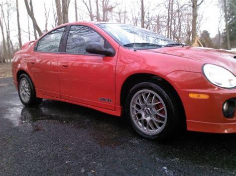 2005 dodge neon srt 4 acr for sale sell used 2005 dodge neon srt 4 acr sedan 4 door 2 4l in