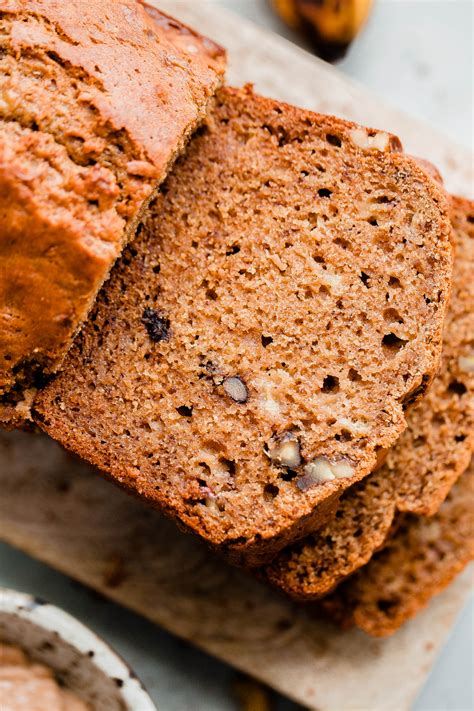 Dieting Recipe Of The Month Banana Walnut Toast by Banana Walnut Bread With Spiced Walnut Butter A