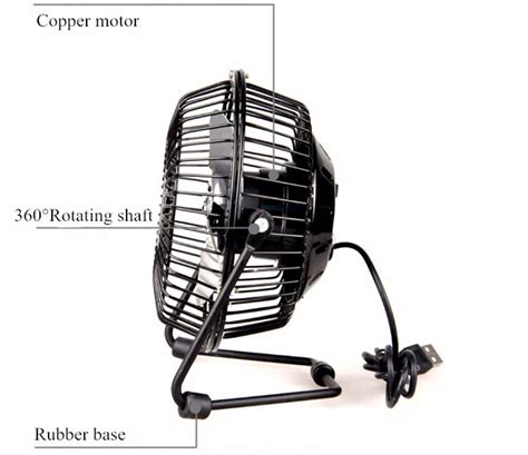 silent desk fan amazon 2 x mini portable usb fan desktop desk silent cooler