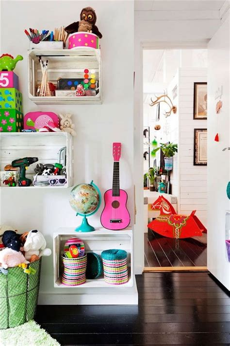 creative diy storage ideas  organize kids room