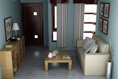 desain interior rumah yang sederhana dekorasi ruang tamu sederhana mungil