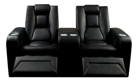 spitfire 7 series 702 black leather home cinema seats