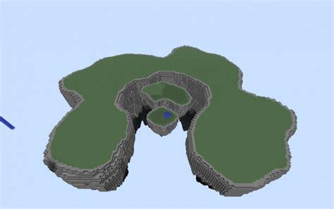 large floating island blank creation