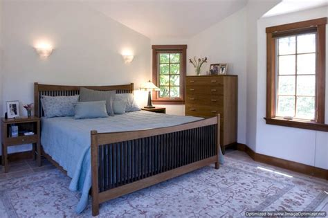 craftsman style home traditional bedroom san