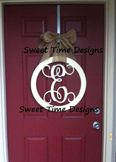 Wooden Letters For Front Door Wooden Letter For Front Door Https Www Sweettimedesigns Letters