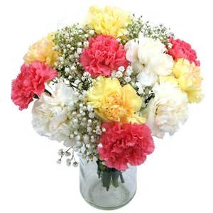 flower bouquets mixed carnations for uk flower delivery from clare florist