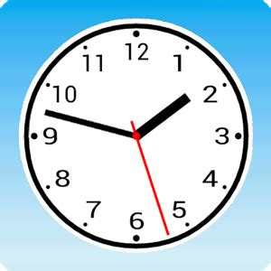 simple analog clock widget android apps on play