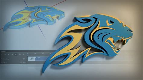 logo design photoshop cs3 tutorial energizing your logos with 3d animation in photoshop