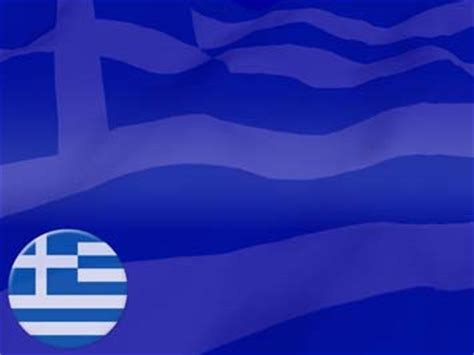 greece flag 04 powerpoint templates