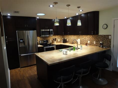 Espresso Kitchen Cabinets Espresso Kitchen Cabinets And Backsplash Gnewsinfo