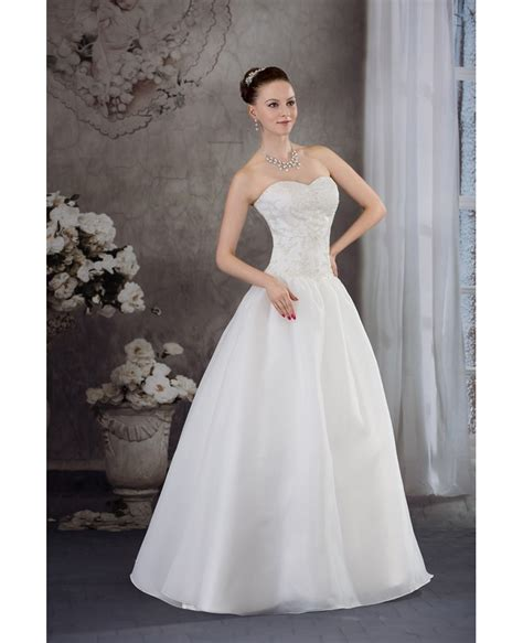 Wedding Dress Handmade - handmade beaded ballgown wedding dress sweetheart oph1239