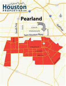 pearland map pearland neighborhood real estate homes for sale guide