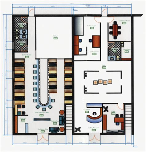 Auto Cad Floor Plan Hado Japanese Restaurant And Gallery | auto cad floor plan hado japanese restaurant and gallery