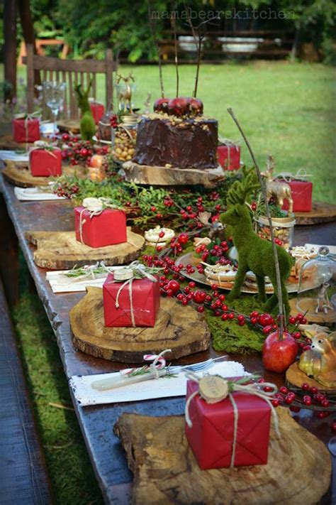 kara s party ideas rustic vintage woodland party christmas birthday planning ideas