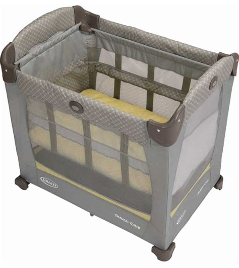Graco Baby Crib by Graco Travel Lite Crib With Stages Peyton