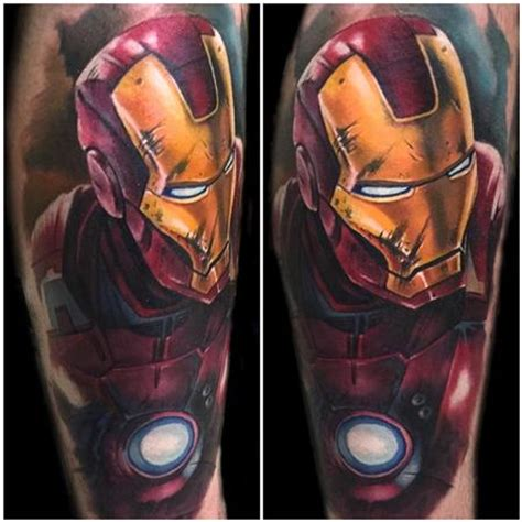 color realistic boba fett tattoo by evan olin tattoonow