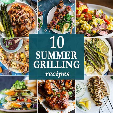 10 summer grilling recipes the cookie rookie