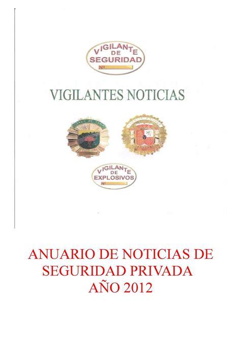 salario anual seguridad privada noticias vigilante seguridad privada calam 233 o anuario