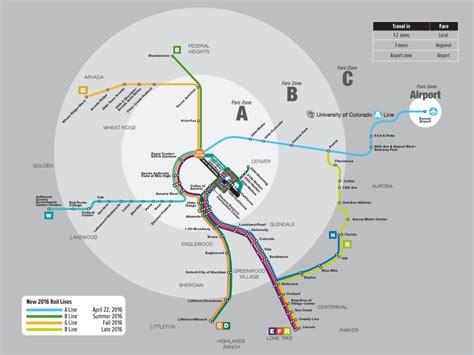 transit maps updated official map denver rtd rail