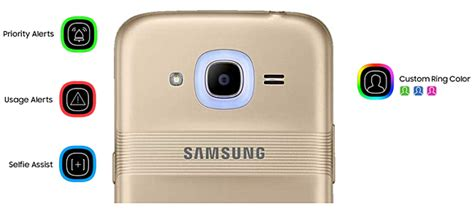 Samsung J2 Gsm Arena 2016 edition of samsung galaxy j2 comes with a smart glow led