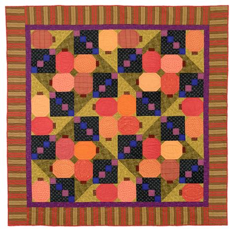 Pumpkin Patch Quilts by Question Ugly Quilts Stitch This The