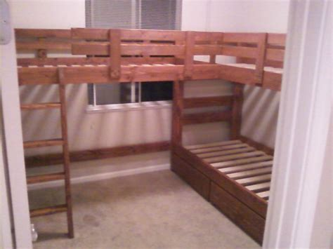 4 bed bunk bed 2 215 4 bunk bed plans bed plans diy blueprints