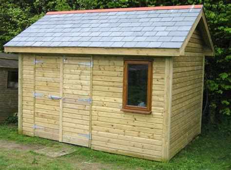 Garden Sheds by Build Your Own Garden Shed Plans Shed Blueprints