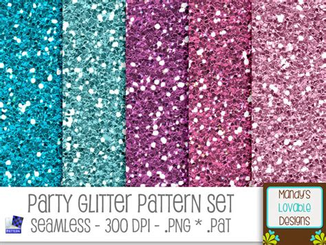 pattern photoshop glitter sale party glitter pattern set for photoshop pse