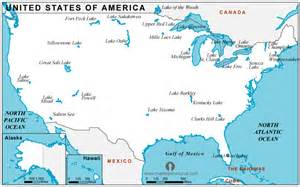 free usa lakes map lakes map of usa lakes usa map