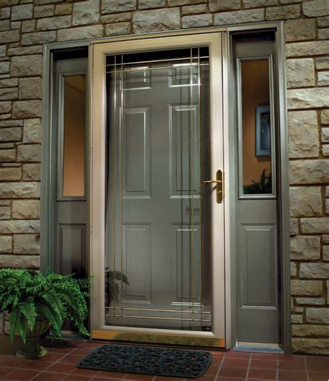 Many manufacturers now began producing door door screen using