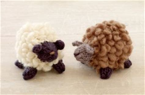 free crochet pattern 80093ad little lamb lion brand yarn free little sheep knitting pattern for baby mobile