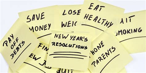 how to make sure your new year s resolutions stick