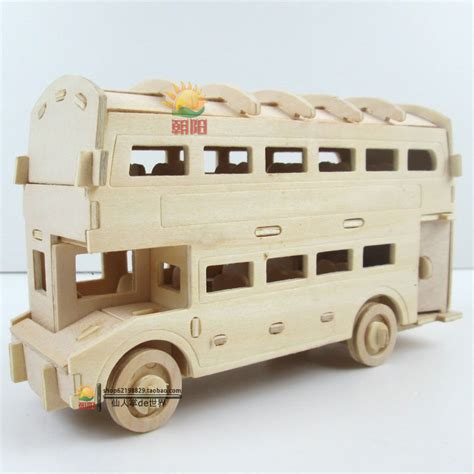 Coach Handcrafted In China - wooden mini handmade assembling car layer
