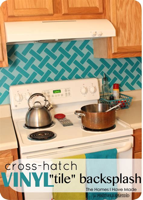 vinyl kitchen backsplash cross hatch vinyl tile backsplash positively splendid