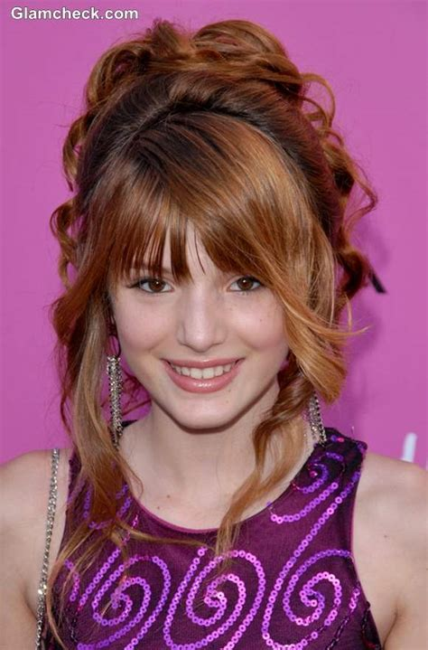 Hair Styles For Junior Teens | bella thorne inspired fun hairstyles for little teenage girls