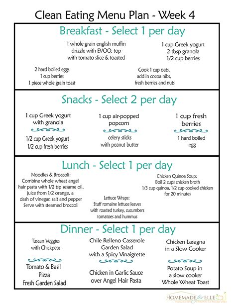 printable clean eating recipes clean eating diet plan recipes diet plan