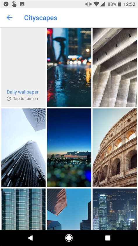google wallpaper application google wallpapers app adds new categories and wallpapers