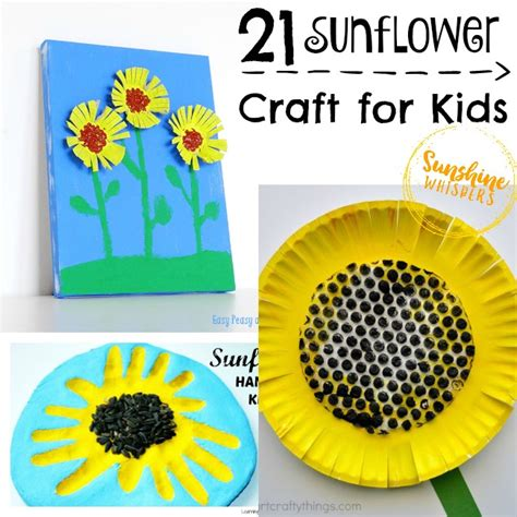 sunflower crafts for happy sunflower crafts for