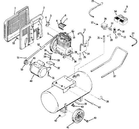 devilbiss l420 air compressor parts