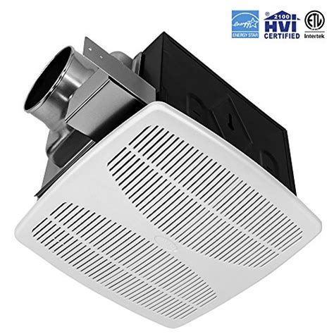 ultra quiet bath fan bv ultra quiet 90 cfm 0 7 sone bathroom ventilation and